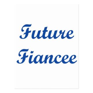 Future Fiancee! Postcard