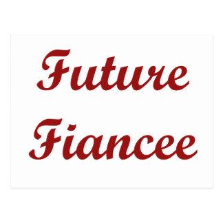 Future Fiancee Postcard