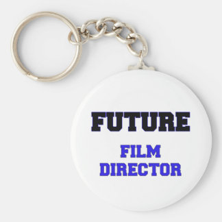 Future Film Director Basic Round Button Key Ring