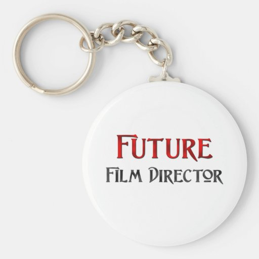 Future Film Director Key Chains