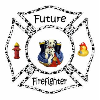 Future Firefighter Dalmation Photo Sculpture