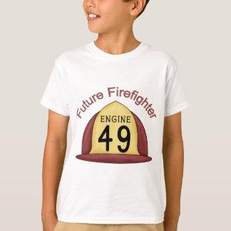 future Firefighter Hat T-Shirt