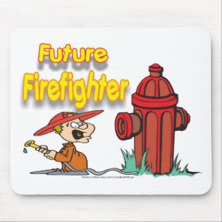 FUTURE FIREFIGHTER MOUSE PAD