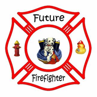 Future Firefighter Photo Sculpture