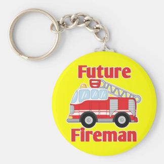 Future Fireman Key Chain