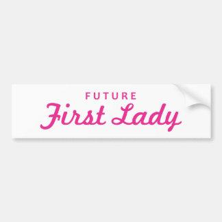 Future First Lady Bumper Sticker