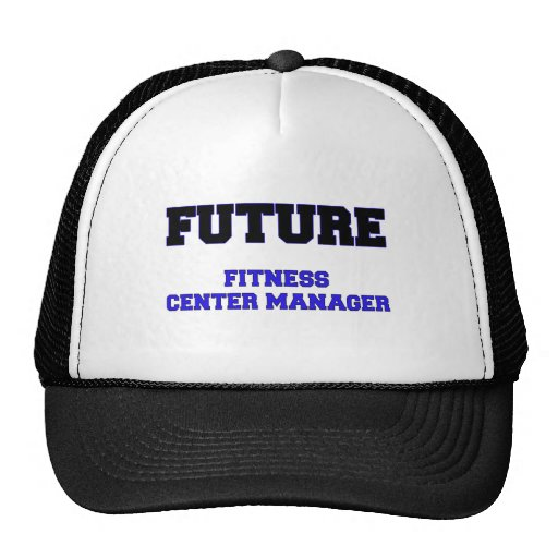 Future Fitness Center Manager Mesh Hats