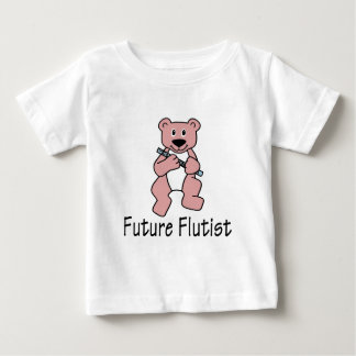 Future Flutist/ Bear Baby T-Shirt