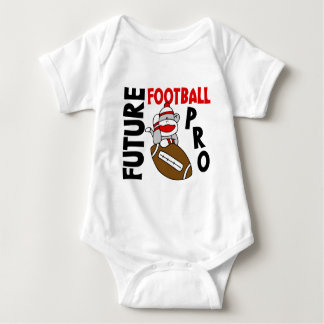 Future Football Pro Sock Monkey Baby Bodysuit
