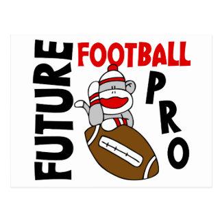 Future Football Pro Sock Monkey Postcard