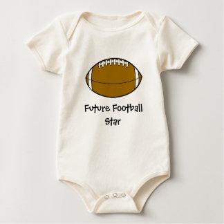 Future Football Star baby kids Baby Bodysuit