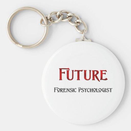 Future Forensic Psychologist Key Chain