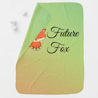 Future Fox - Baby Blanket