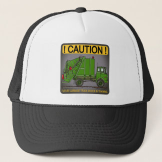 Future Garbage Truck Green Driver Hat