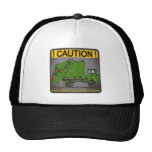 Future Garbage Truck Green Driver Hat