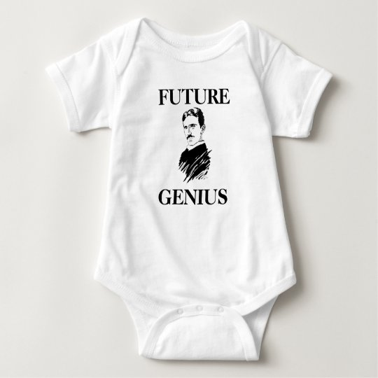 Future Genius Awesome Tesla Baby Infant Creeper