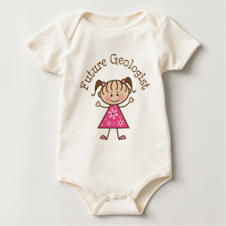 Future Geologist (Cute) Baby Bodysuit
