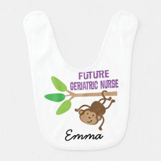 Future Geriatric Nurse Personalized Baby Bib
