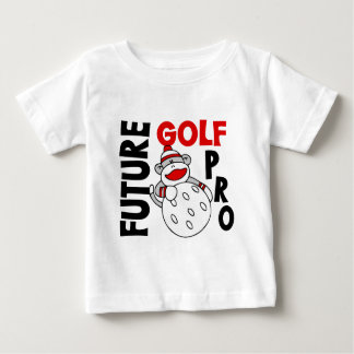 Future Golf Pro Sock Monkey Baby T-Shirt