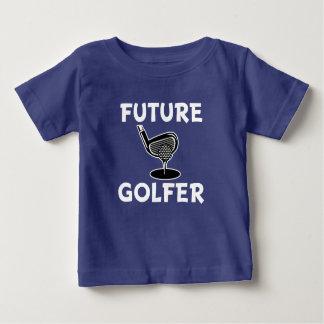 Future Golfer funny saying baby boy shirt