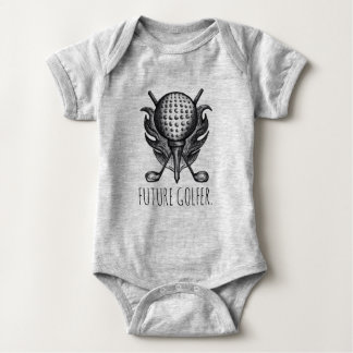FUTURE GOLFER Golf Clubs Ball Tee Golfing Sports