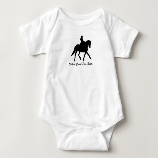 Future Grand Prix Rider (Dressage) Baby Bodysuit