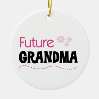Future Grandma Gifts Christmas Ornament