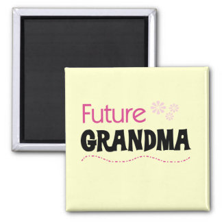Future Grandma Tshirts and Gifts Square Magnet