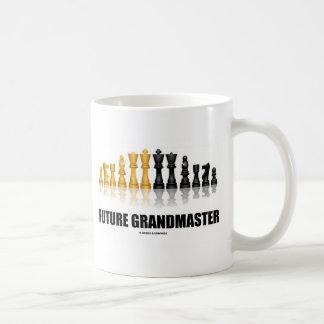 Future Grandmaster (Chess Set) Basic White Mug