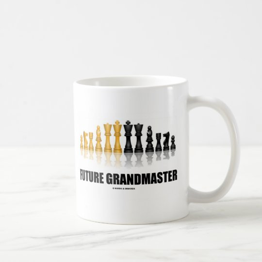 Future Grandmaster (Chess Set) Coffee Mug