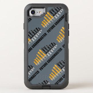 Future Grandmaster Reflective Chess Set OtterBox Defender iPhone 8/7 Case
