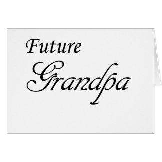 Future Grandpa Greeting Card