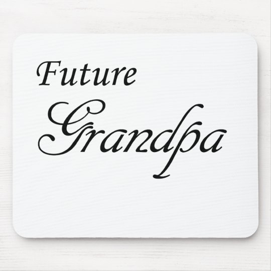 Future Grandpa Mouse Pad