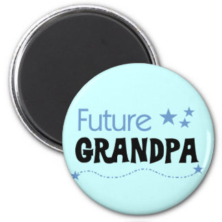 Future Grandpa Tshirts and Gifts 6 Cm Round Magnet