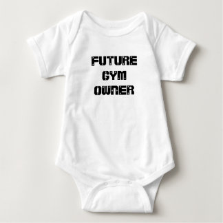Future Gym Owner baby shirt