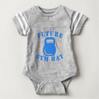 Future Gym Rat Baby Bodysuit