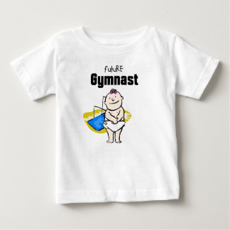 Future Gymnastics Star (Uneven Bars) Baby T-shirt