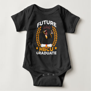 Future HBCU Graduation Black African Student Baby Bodysuit