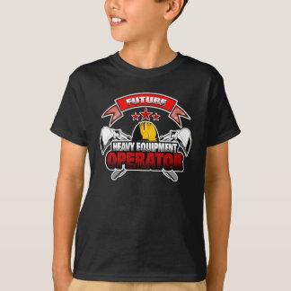 Future Heavy Equipment Operator T-Shirt