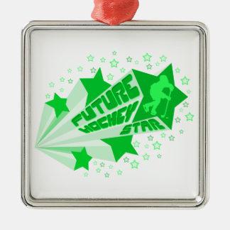 Future Hockey Star Christmas Oranment Christmas Ornament
