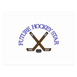 Future Hockey Star Postcard