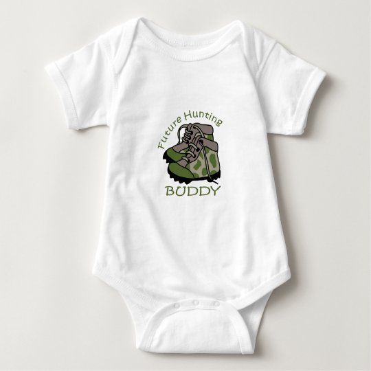 FUTURE HUNTING BUDDY BABY BODYSUIT