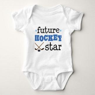 Future Ice Hockey Star Sports Baby Bodysuit