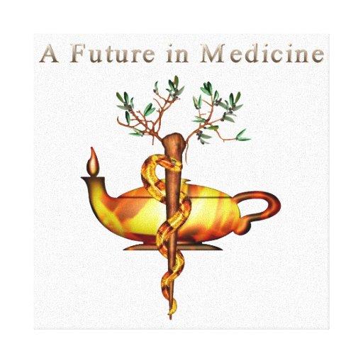 Future in Medicine Canvas Print