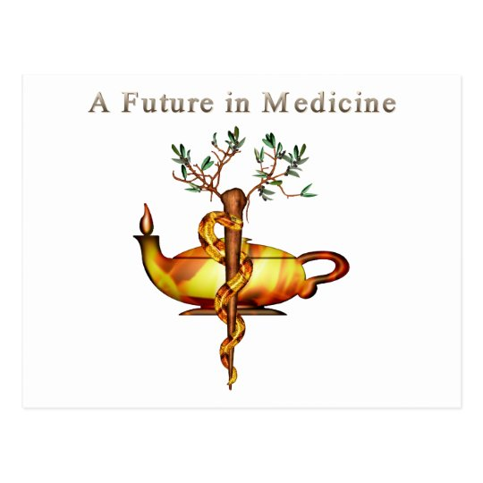 Future in Medicine Postcard