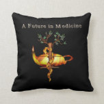 Future in Medicine Throw Pillows