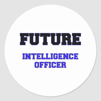 Future Intelligence Officer Stickers