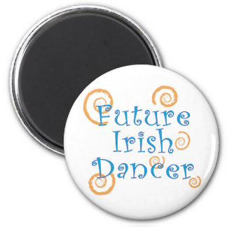 Future Irish Dancer - Original Version 6 Cm Round Magnet