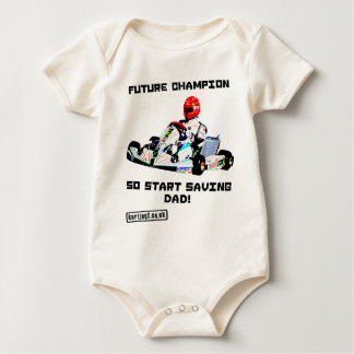 Future Karting Champion Start Saving Bodysuit