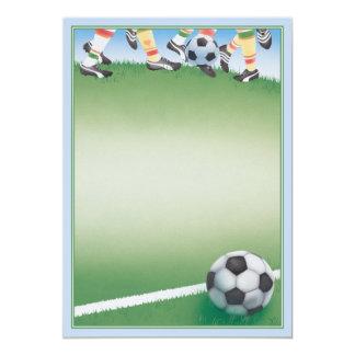 Future Kicks © 13 Cm X 18 Cm Invitation Card
